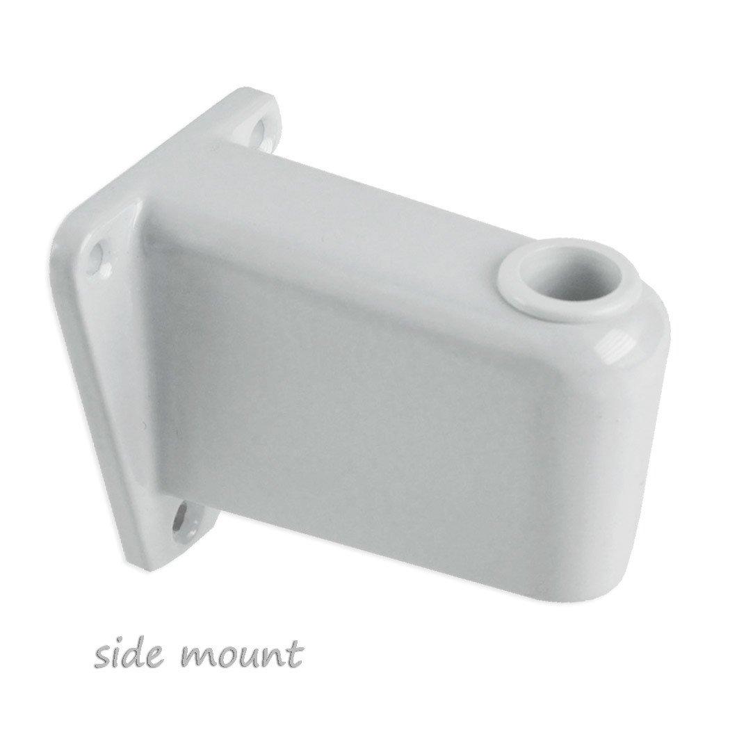 拡大鏡ランプ作業ライトマウントブラケットクランプ – から選択4スタイル Flat base GS-G1-STD-2 B0061QAVB0 Flat base  Flat base