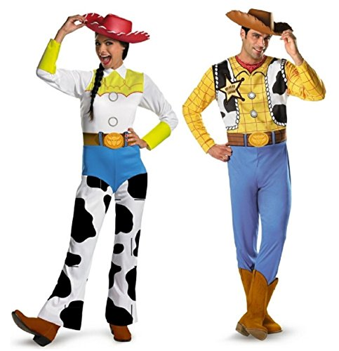Toy Story Woody and Jessie Couples Costume -