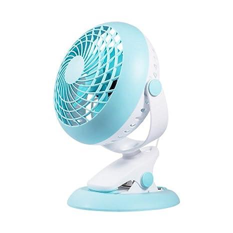 Ventilador de pinza, ventilador de escritorio portátil silencioso ...