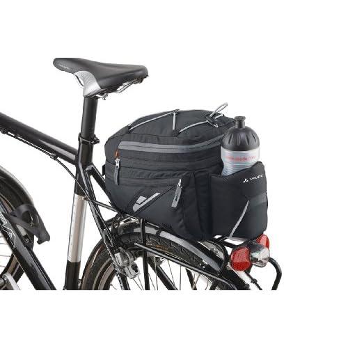 VAUDE Silkroad L Sac pour porte-bagages (i-rack) Noir 21x 17x 31cm