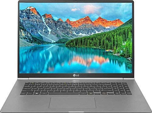 "2020 LG Gram Thin and Light Laptop, 17"" WQXGA 2560 x 1600 IPS Display Intel tenth Gen i7-1065G7 512GB SSD 16GB RAM Thunderbolt 3 as much as 17 Hour Battery Intel Iris Plus Graphics Win 10 Pro (Renewed)"