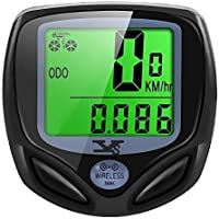 SY Bicycle Speedometer and Odometer Wireless Waterproof...