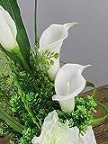 Luyue Calla Lily Bridal Wedding Bouquet Head Lataex