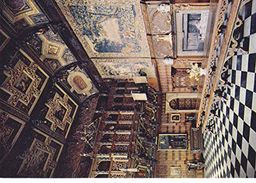 - 469VINT04 J. Arthur Dixon, Hatfield House - The Marble Hall is an evolution of the Great Hall of earlier days COLLECTIBLE VINTAGE Post Card from HIBISCUS EXPRESS -THIS POSTCARD IS 5 1/2