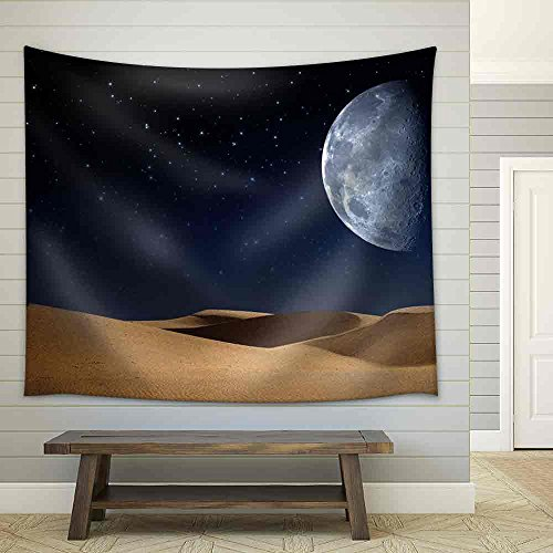 Desert on the Night Abstract Natural Backgrounds Fabric Wall