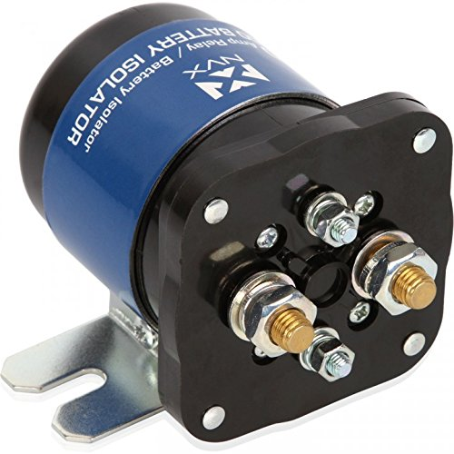 NVX 500 Amp Mobile Audio Relay Battery Isolator ()