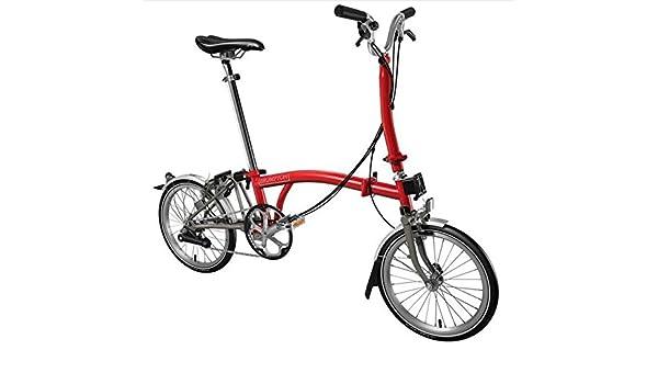 Brompton H6L Superlight 2017 Bicicleta Plegable Rojo Titanio ...