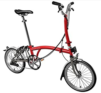Bicicleta plegable brompton peso