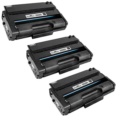Speedy inks - 3 Pack Ricoh 406989 Remanufactured High-Yield Black Laser Toner Cartridge for use in SP 3500DN, SP 3500N, SP 3500SF, SP 3510DN, & SP 3510SF