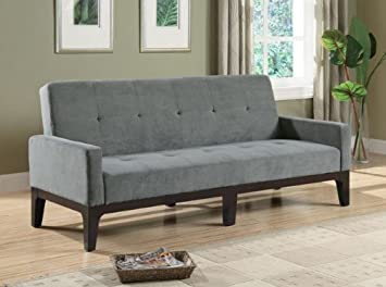 Coaster Home Furnishings Contemporary Sofa Bed Cappuccino Dark Grey