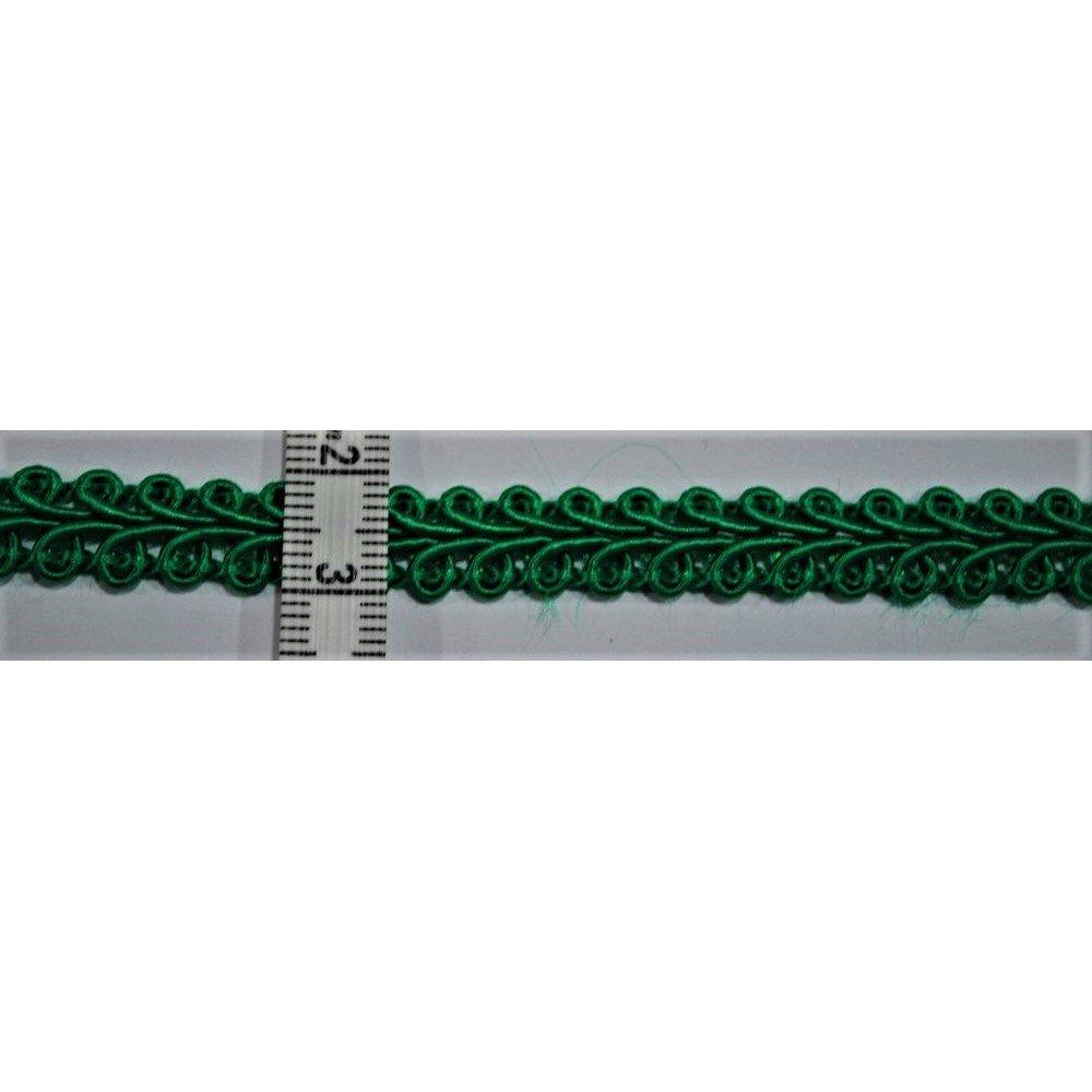TOMASELLI MERCERIA Passamaneria Copripunto agramano per tappezzeria Alto 1 cm - Verde
