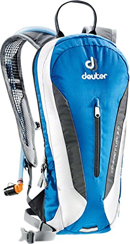 (Deuter 420001631700 Ocean/White Compact Lite with 2 Liter Reservoir - Perfect for Hiking, Biking, Hunting, Off-road and Motorcycling)