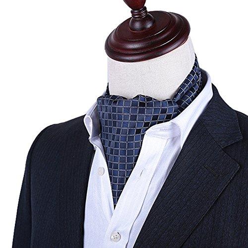 797fd22c39 Envio gratis PENGFEI Seda Corbata Bufanda Hombres Ropa Formal Camisa Toalla  De Escote Mantener Caliente Bordado
