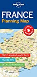 Lonely Planet France Planning Map (Travel Guide)