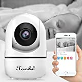 Wireless IP Home Camera, Toobe 720P HD WiFi Wireless Security Surveillance Camera with Motion Detection Pan/Tilt, 2 Way Audio and Night Vision Baby Pet Monitor, Nanny Cam