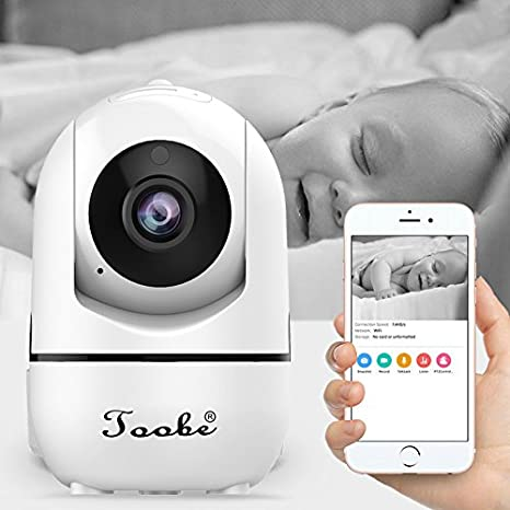 Amazon.com: Home Camera, Toobe 720P HD Wifi Wireless IP ...