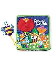Manhattan Toy 202970 Buzzing Through Book 7L x 7W x 2D in