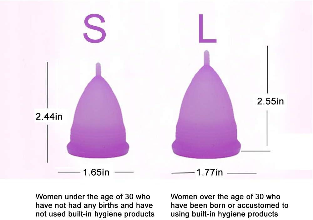 Copa Menstrual, Copas de Silicona Copa Menstrual Suave ...