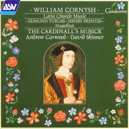 Cornysh: Latin Church Music / The Cardinall's Musick by ASV