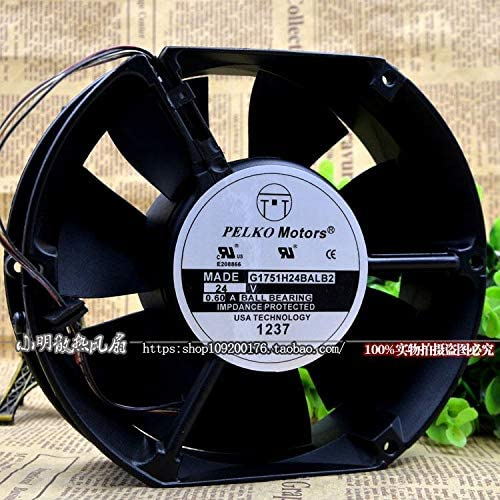 Cytom for PELKO Motors G1751H24BALB2 24V 0.60A Inverter Metal Cooling Fan