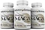 Peruvian Maca Extract – PACK OF 3 – Extra Strength 12:1 Extract – 500mg Maca Root Capsules – For Men And Women – 1 Month Supply – Made In USA For Sale