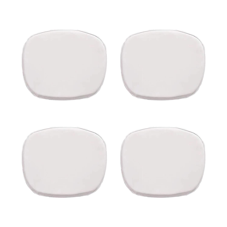 NICEMOODS - Juego de 4 Almohadillas para sillas, Color ...