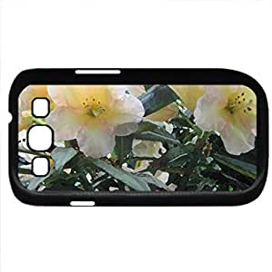 Colorful Garden 59 (Flowers Series) Watercolor style - Case Cover For Samsung Galaxy S3 i9300 (Black)
