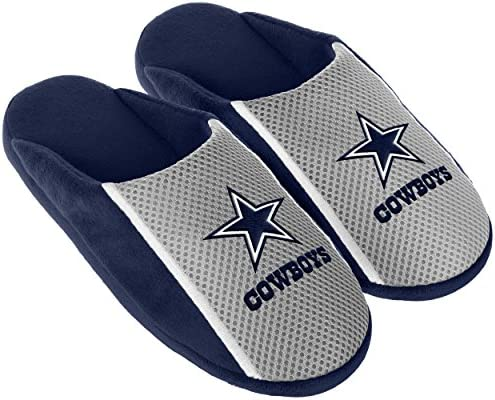 06f92b3cb2f Amazon.com : Dallas Cowboys 2016 Jersey Slide Slipper Small : Clothing