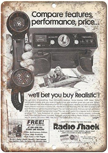 Adkult Radio Shack Realistic Mobile CB Radio 10