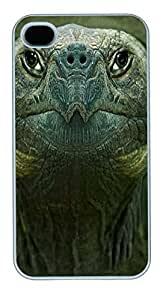 IPhone 4S Cases Turtle Head Polycarbonate Hard Case Back Cover for iPhone 4/4S White