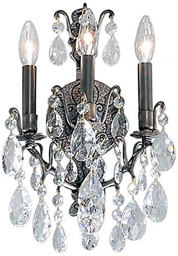 (Classic Lighting 9001 AB C Versailles, Crystal, Sconce/WallBracket, 8