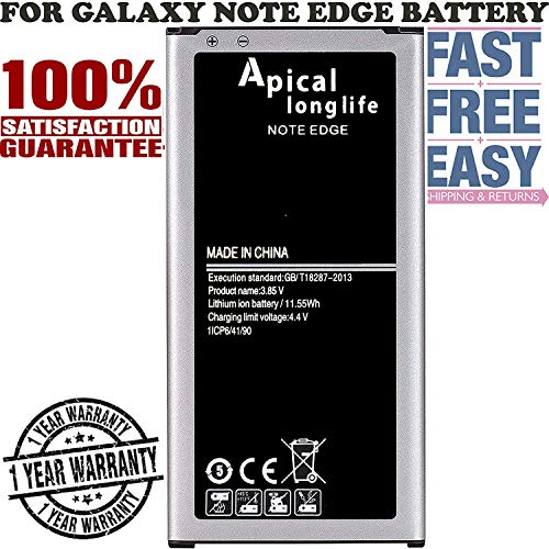 Brand New OEM Replacement Battery for Samsung Galaxy Note EDGE Battery 3000 mAh EB-BN915BBU, Compatible with - Samsung Note Edge SM-N915, SM-N915P, SM-N915R4, SM-N915A, SM-N915T, SM-N915V, SM-N915W8.
