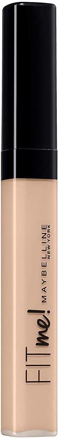 Maybelline Corrector de Ojeras E Imperfecciones Fit Me Tono 08 Nude Acabado Natural Pieles Claras - 6.8 ml