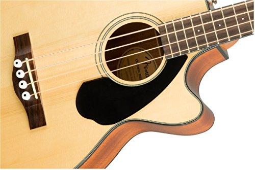 Fender CB-60SCE Beginner Acoustic-Electric Beginner Bass Guitar - Natural