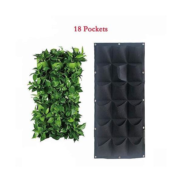 Starry sky Black Wall Colore pensili Piantare Borse 36/72 Tasche coltiva Il Sacchetto Planter Verticale orto Living… 4 spesavip