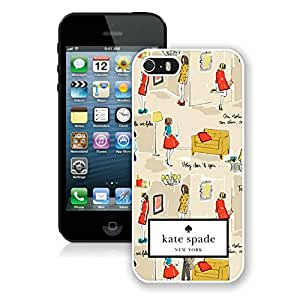 Fashionable and DIY Kate Spade iPhone 5/5s 5th White Case in Grace protective 020