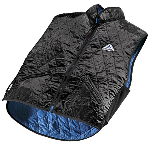 HyperKewl Evaporative Cooling Deluxe Sport Vest, Black, X-large