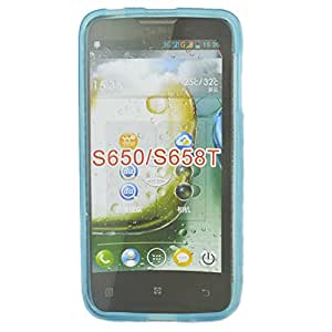 X-gps,silicone Mobile Shell Case for Lenovo S650/s658t,cellphone Case