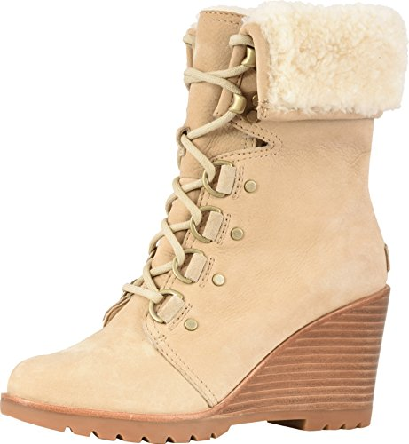 Sorel After Hours Lace Shearling Boot - Women's Oatmeal, -