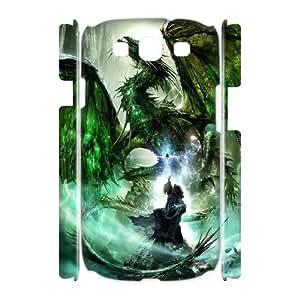 Diy Dragon Phone Case for samsung galaxy s3 3D Shell Phone JFLIFE(TM) [Pattern-2]