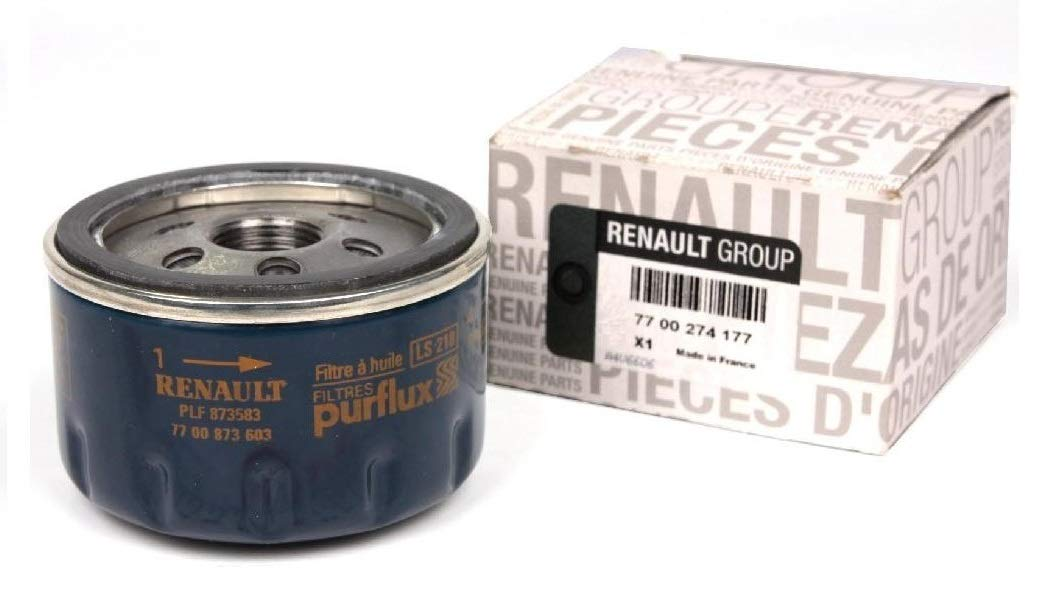 Recambio Original Filtro de Aceite Renault Laguna Megane Scenic 1 2 3 Modus Twingo Trafic 7700274177