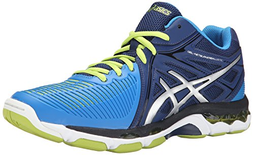 discount genuine cheap Inexpensive ASICS Men's Gel-Netburner Ballistic MT Volleyball Shoe Navy/Silver/Electric Blue Aez3PEWe66