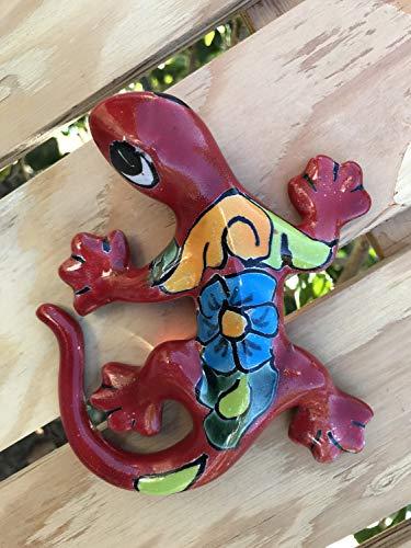 Authentic Puebla Talavera Ceramic Small Iguana 6