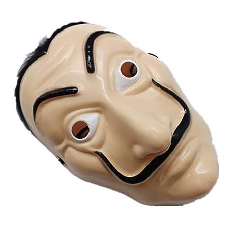 TOSSPER Dali plástico máscara de Halloween casa de Papel La ...