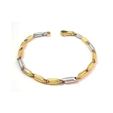 mas bajo precio cliente primero nueva colección Gioielleria Bucci 18 amarillo KT y oro blanco pulsera para ...