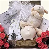 Bless This Baby Girl: Christening/Baptism Gift Basket
