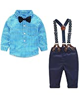 Yilaku Toddler Boys Outfits Suit Infant...