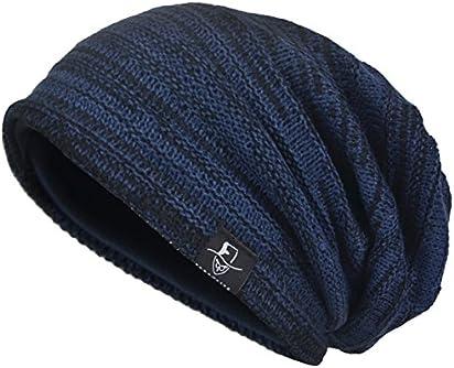 23fc00d483792 VECRY Men s Cool Cotton Beanie Slouch Skull Cap Long Baggy Hip-hop Winter  Summer Hat