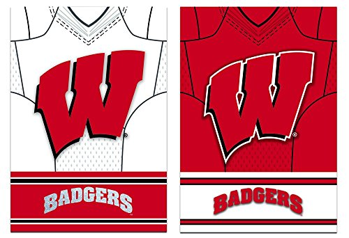 Team Sports America Wisconsin-Madison Badgers Double Sided J