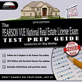 Amazon com: The PEARSON VUE National Real Estate License